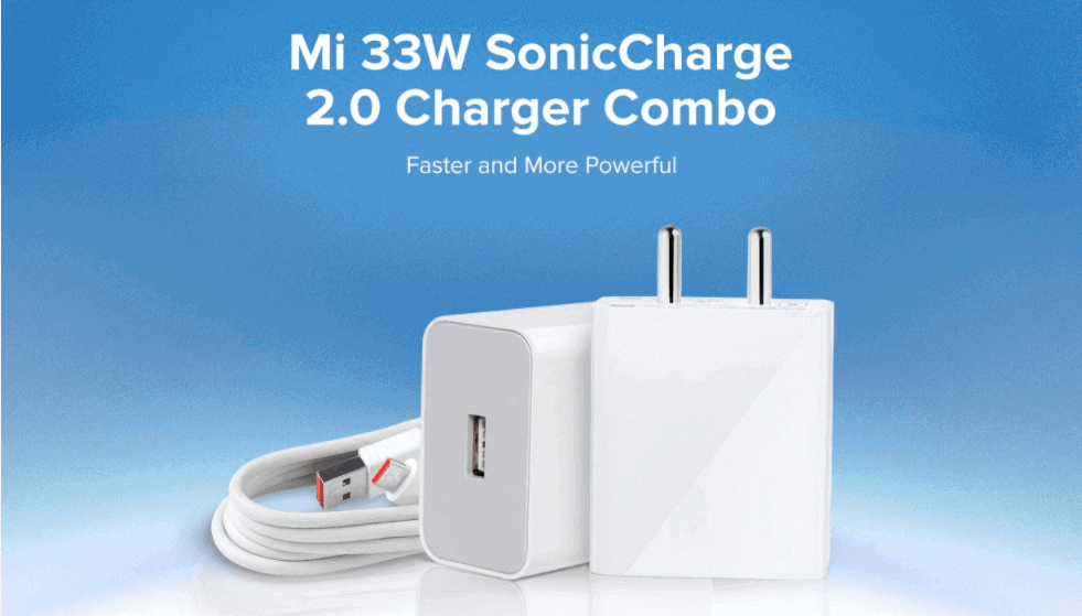 Xiaomi Mi 33W Sonic Charge 2.0 Charger