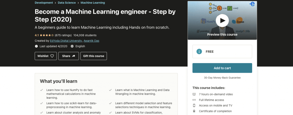 Machine Learning- From Basics to Advanced