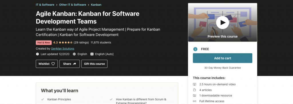 Agile Kanban: Kanban for Software Development Teams