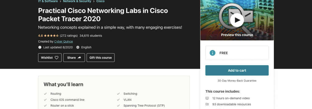 Practical Cisco Networking Labs in Cisco Packet Tracer 2020