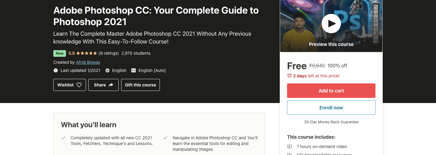 Adobe Photoshop CC: Your Complete Guide to Photoshop 2021