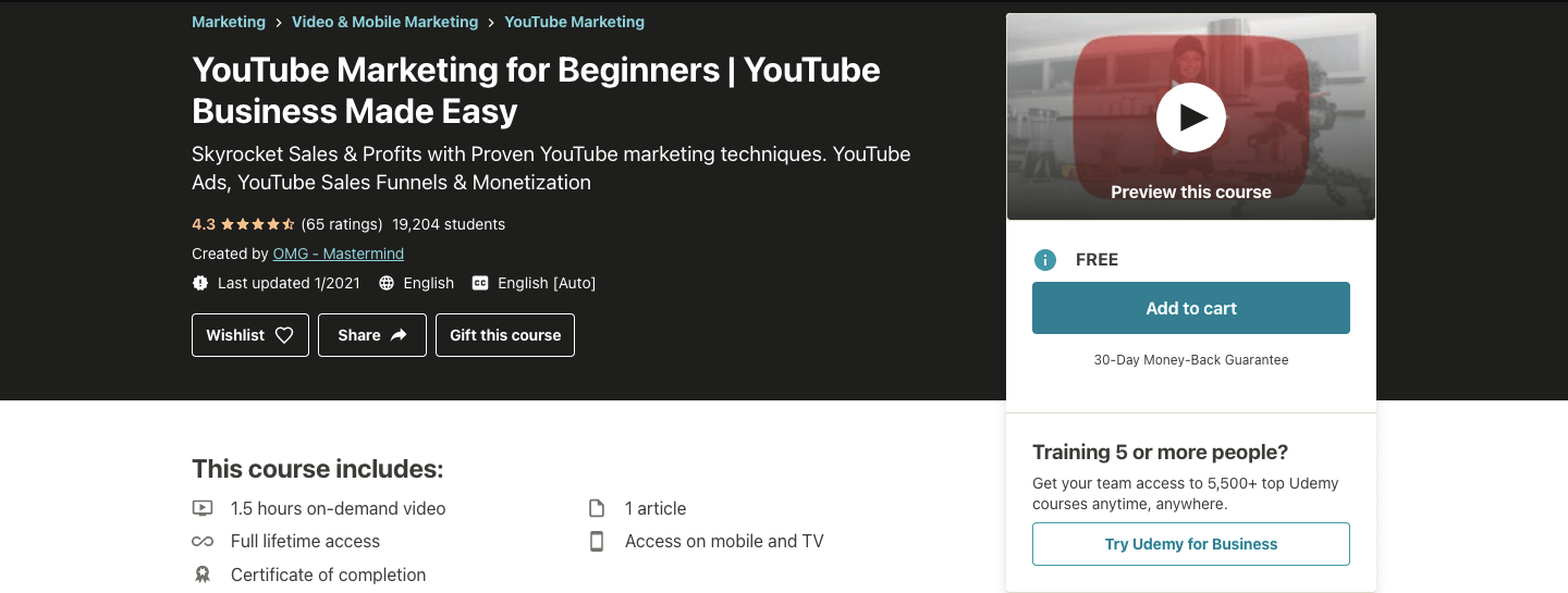 YouTube Marketing for Beginners | YouTube Business Made Easy
