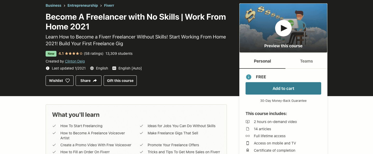 Become A Freelancer with No Skills | Work From Home 2021