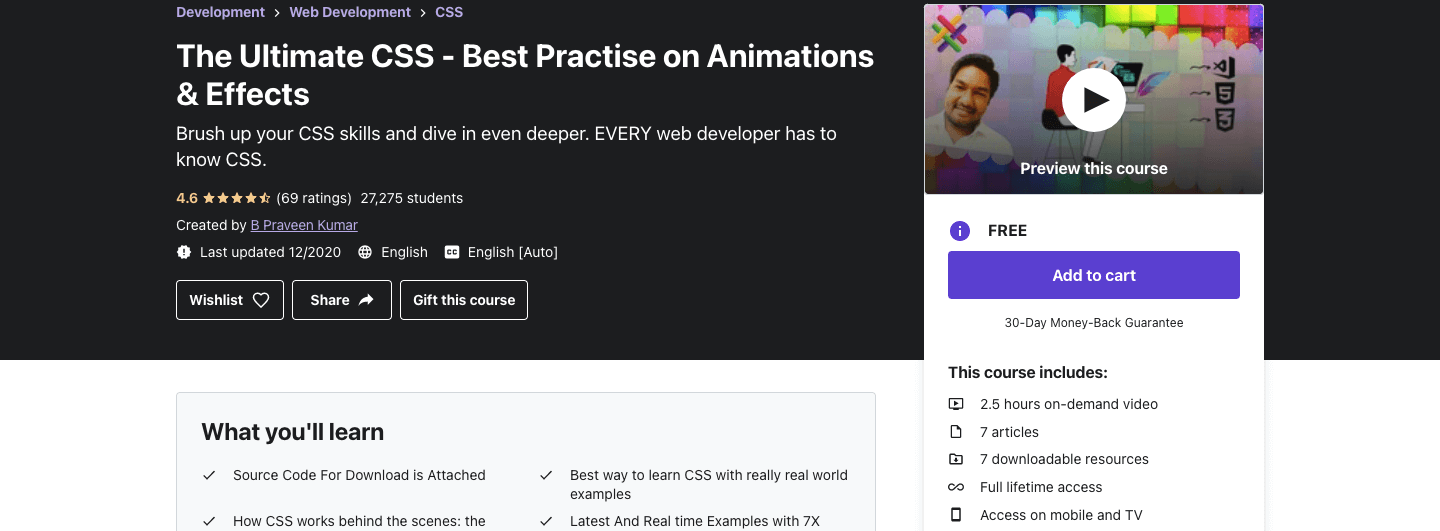 The Ultimate CSS - Best Practise on Animations & Effects
