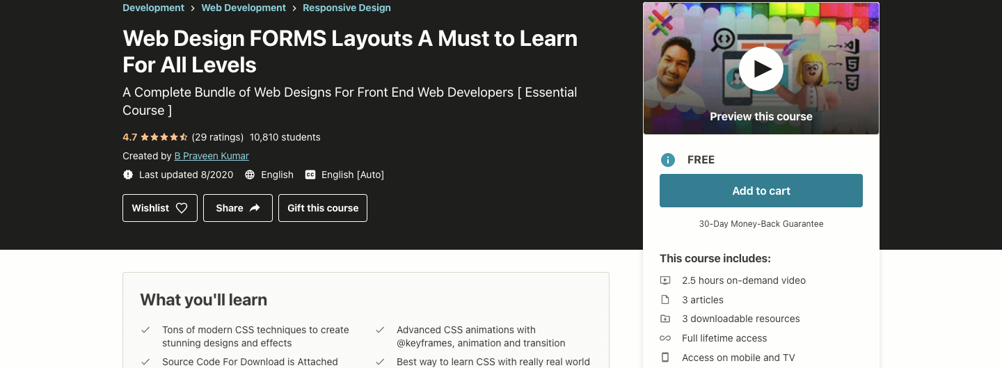 Web Design FORMS Layouts A Must to Learn For All Levels