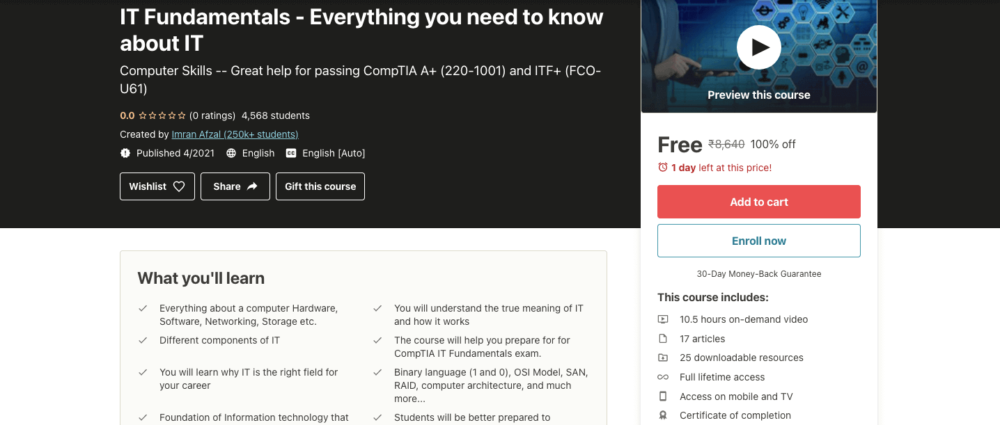 IT Fundamentals - Everything you need to know about IT