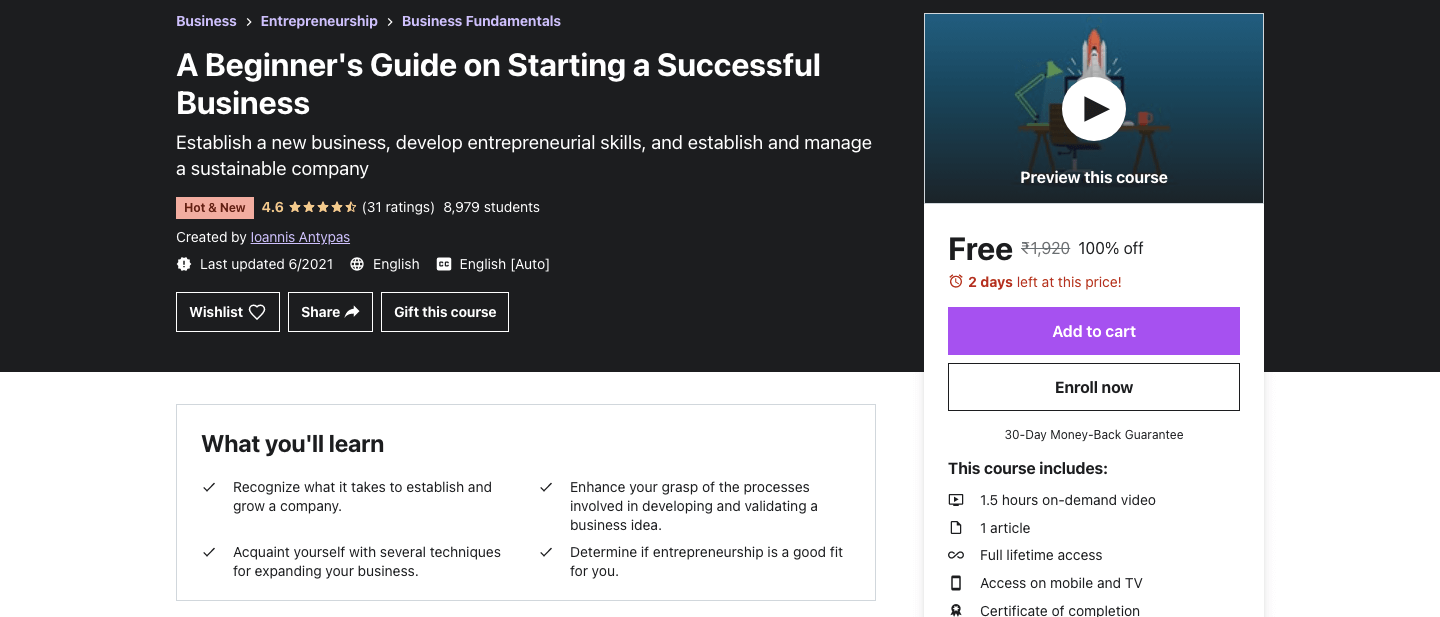 A Beginner's Guide on Starting a Successful Business
