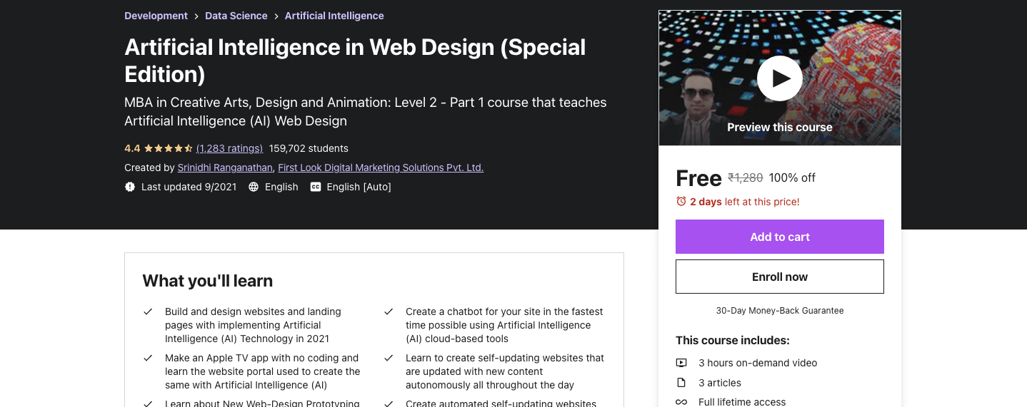 Artificial Intelligence in Web Design (Special Edition)